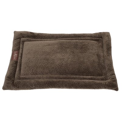 Ripple Velour Cozy Mat Color: Avocado, Size: Large - 36 L x 23 W