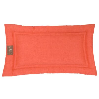 Indoor/Outdoor Cozy Mat Size: Small (24 L x 18 W), Color: Poppy