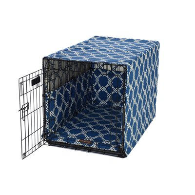 Kratos Crate Cover Up Set Size: Large (23H x 23 W x 36 H), Color: Smoke Blue