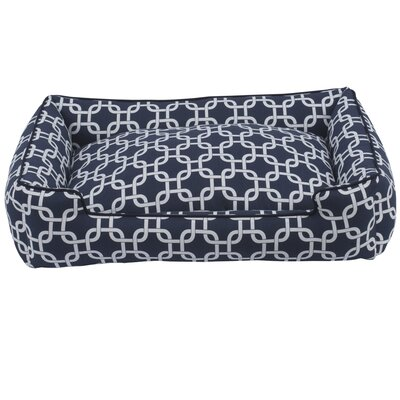 Marine Lounge Dog Bed Size: Medium (27 L x 32 W)