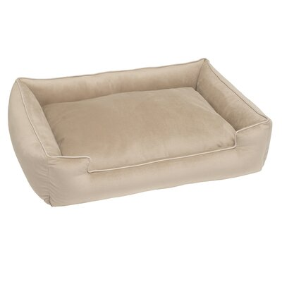Fur Velour Lounge Bed Color: Pony, Size: Extra Large