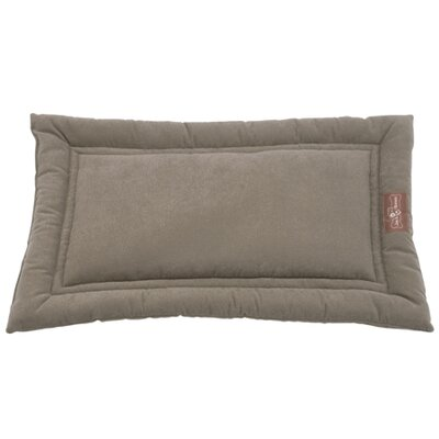 Crypton Cozy Dog Mat Color: Sage, Size: Medium (30 L x 19 W)