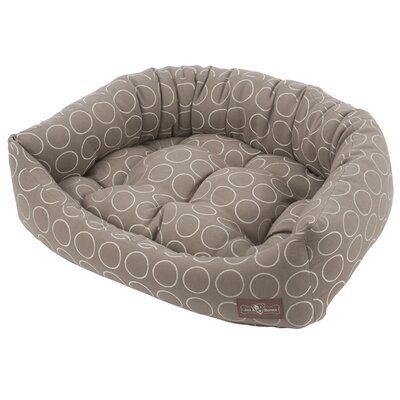 Premium Cotton Bolster Bed Size: Medium - 27 L x 35 W, Color: Halo Peanut