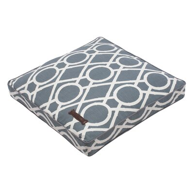 Premium Cotton Square Pet Bed Size: Medium Square (30 L x 30 W)