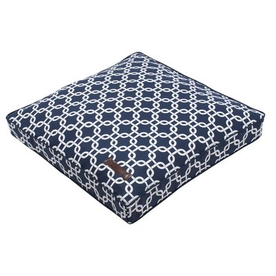 Everyday Cotton Square Pillow Bed Size: Small - 25 L x 25 W