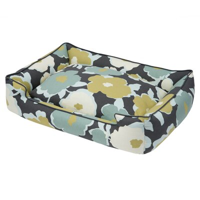 Everyday Cotton Lounge Pet Bed Size: Small (24 L x 18 W), Color: Magnolia