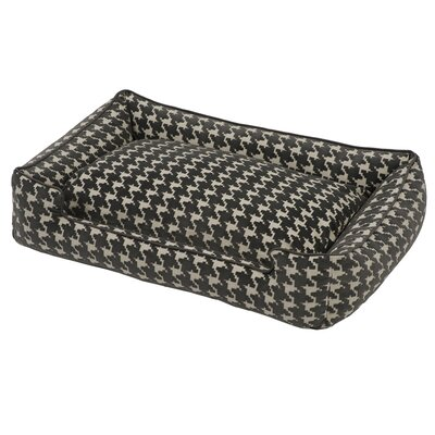 Flocked Lounge Dog Bed Size: Extra Large - 48 L x 40 W