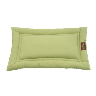 Crypton Cozy Dog Mat Size: Small (24 L x 18 W), Color: Kiwi