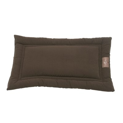 Crypton Cozy Dog Mat Size: Small (24 L x 18 W), Color: Mocha