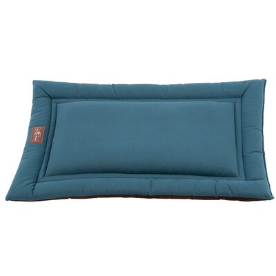 Sleeper Dog Mat Size: Small (24 L x 18 W), Color: Ocean