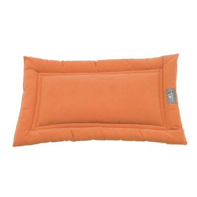 Crypton Cozy Dog Mat Size: Small (24 L x 18 W), Color: Persimmon