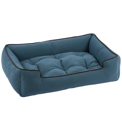 Sleeper Bolster Dog Bed Size: Medium (32 L x 27 W), Color: Ocean
