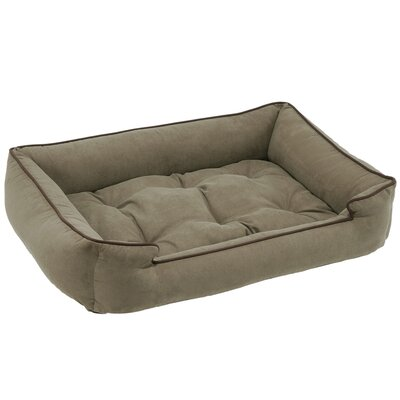 Sleeper Bolster Dog Bed Size: Small (24 L x 18 W), Color: Pine