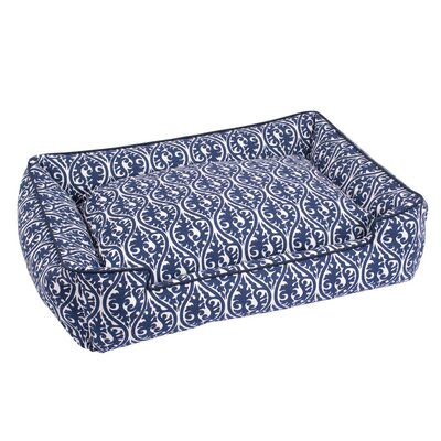 Waverlee Lounge Bolster Dog Bed Size: Medium (32 L x 27 W)