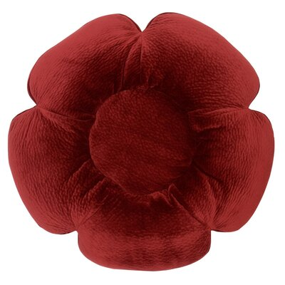 Ripple Velour Bloom Bed