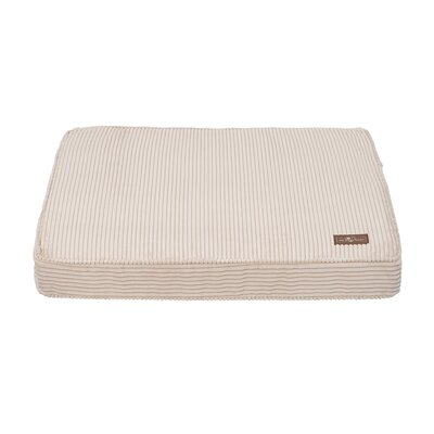 Corduroy Rectangular Pillow Bed Color: Sand, Size: Large (42 L x 36 W)