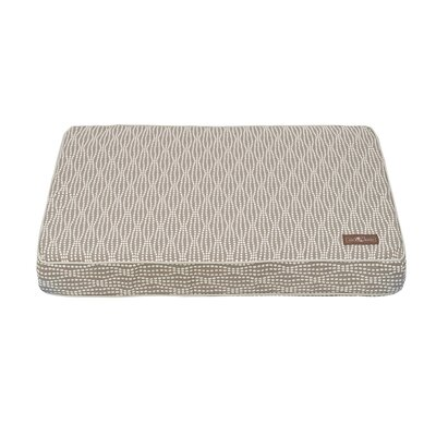 Pearl Premium Cotton Blend Rectangular Pillow Bed Size: Medium (36 L x 28 W), Color: Gray