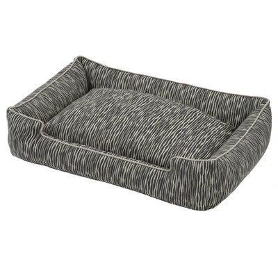 Creek Premium Cotton Blend Lounge Bed Size: Small (24 L x 18 W)