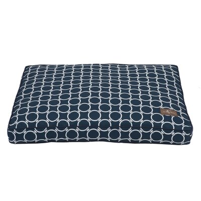 Harbor Occassional Outdoor Rectangular Pillow Bed Size: Large (42 L x 36 W)