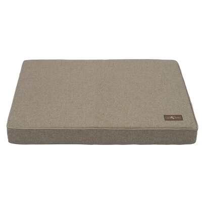 Wool Blend Dog Bed Size: Medium, Color: Beige