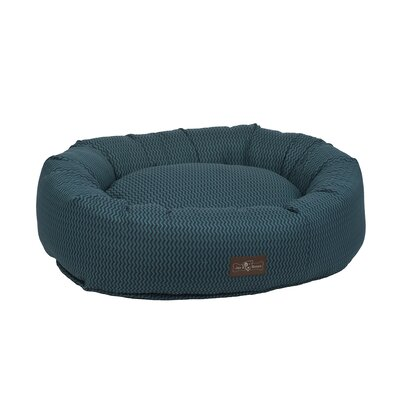 Mod Premium Cotton Donut Bed Size: Large, Color: Mod Wind (Blue)