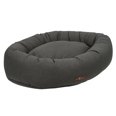 Standard Wool Blend Donut Bed Size: Extra Large, Color: Licorice (Grey)