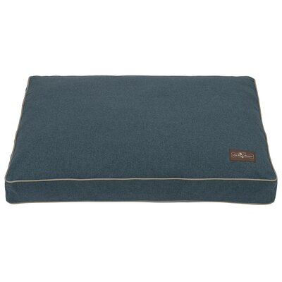Wool Blend Dog Bed Size: Medium, Color: Blue