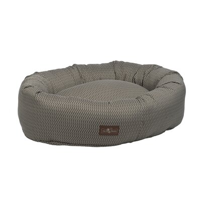 Mod Premium Cotton Donut Bed Size: Medium, Color: Mod Ash (Grey)