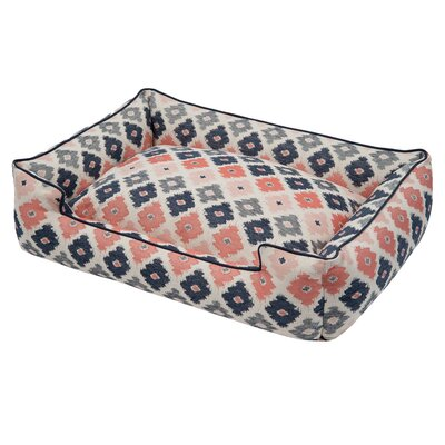 Geo Premium Cotton Blend Dog Sofa Size: Small