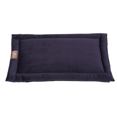 Vintage Standard Plush Velour Cozy Mat Size: Large (36 L x 23 W), Color: Grape