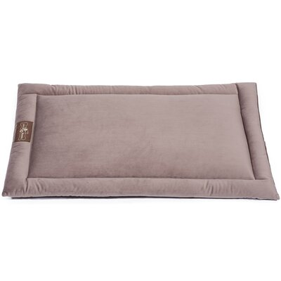 Vintage Standard Plush Velour Cozy Mat Size: Large (36 L x 23 W), Color: Mauve