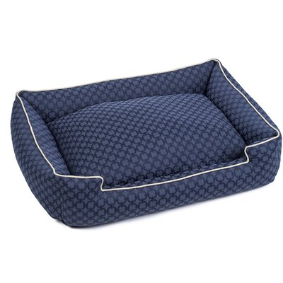 Charter Premium Cotton Lounge Dog Bed Size: Small