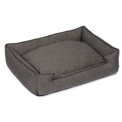 Flicker Premium Cotton Lounge Dog Bed Size: Medium (27 L x 32 W), Color: Heather