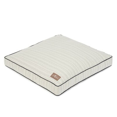Domingo Premium Cotton Blend Rectangular Pillow Bed Size: 28