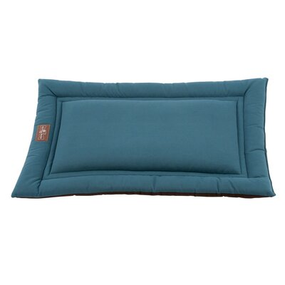Cozy Mat/Pad Dog Size: 3 H x 24 W x 18 D, Color: Teal