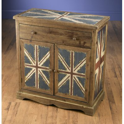 Britania 1 Drawer and 2 Door Chest
