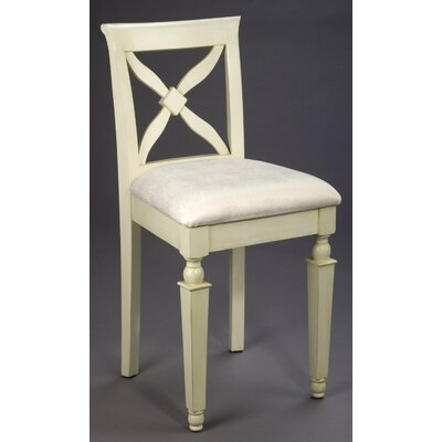 "Financing 24"" Bar Stool in Distressed Wh..."