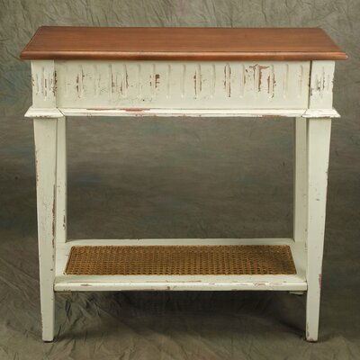Console Table Finish: Parchment