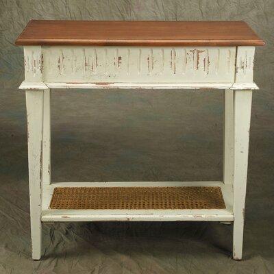 Console Table Finish: Parchment
