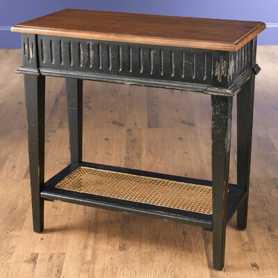 Console Table Finish: Black