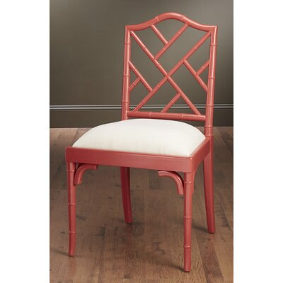 Side Chair Finish: Coral Red