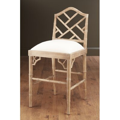 27 inch Bar Stool Finish: Pickled
