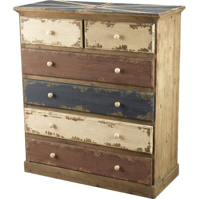 Britania 6 Drawer Chest