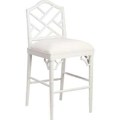 27 Bar Stool Finish: White