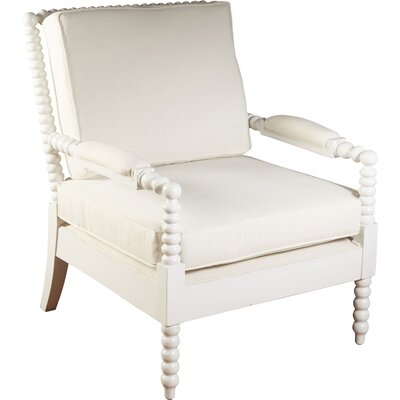 Bobbin Armchair Finish: White