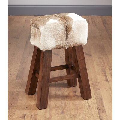29.5 Bar Stool Upholstery: Goat Hide