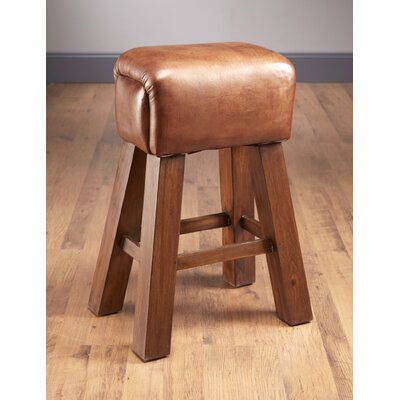 29.5 inch Bar Stool Upholstery: Leather