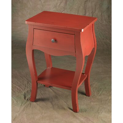End Table Finish: Red