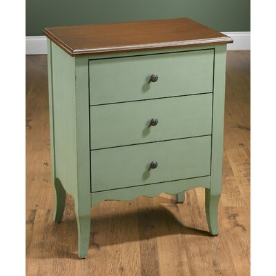 End Table Color: Green/Brown