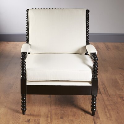 Bobbin Armchair Finish: Black
